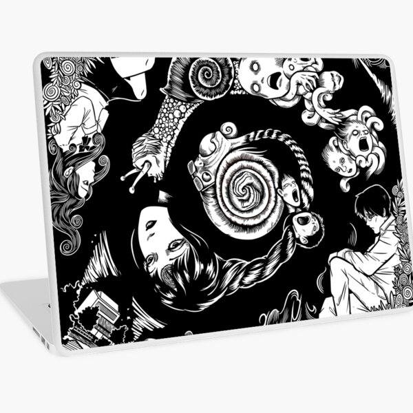 Spiral Into Horror - Uzumaki Laptop Skin