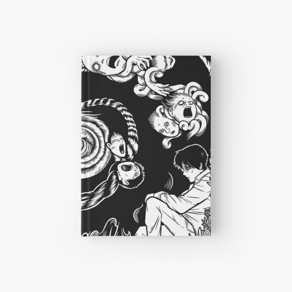 Spiral Into Horror - Uzumaki Hardcover Journal