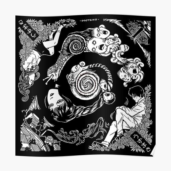 Spiral Into Horror - Uzumaki Poster