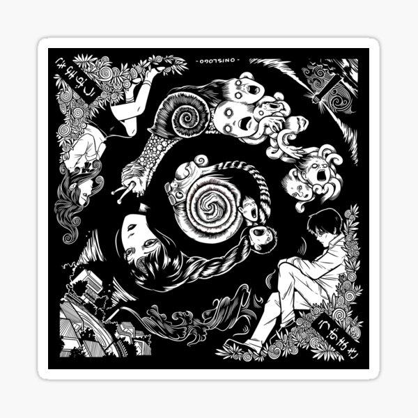 Spiral Into Horror - Uzumaki Sticker
