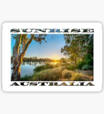 River Swirl Sticker