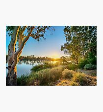 River Swirl Photographic Print