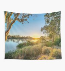 River Swirl Wall Tapestry