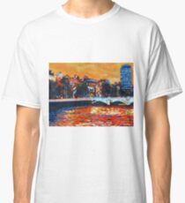O'Connell Bridge & Liberty Hall, Dublin Classic T-Shirt