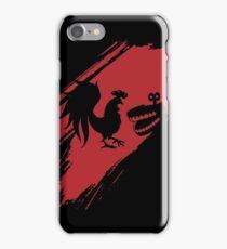 Rooster Teeth brush stroke  iPhone Case/Skin