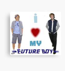 I <3 My Future Boy (Version 2) Canvas Print