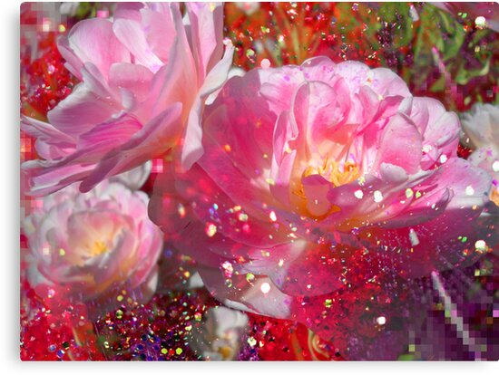 Lovely Tulips & Pink. by Vitta