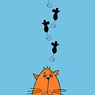 Cat Nap Dreams by redqueenself