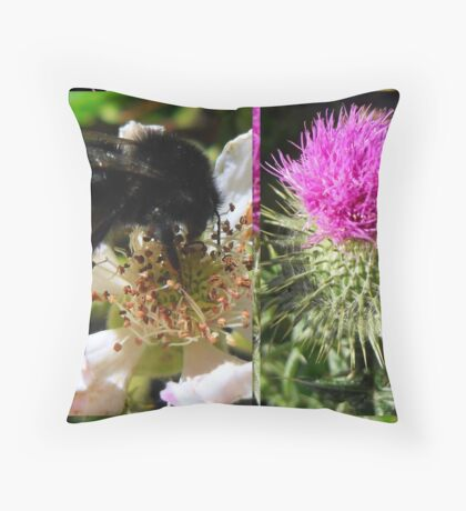 Sweet Nectar featured in The World As We See It or as we missed it. Throw Pillow