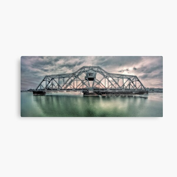 Hojack swingbridge - Rochester NY Metal Print