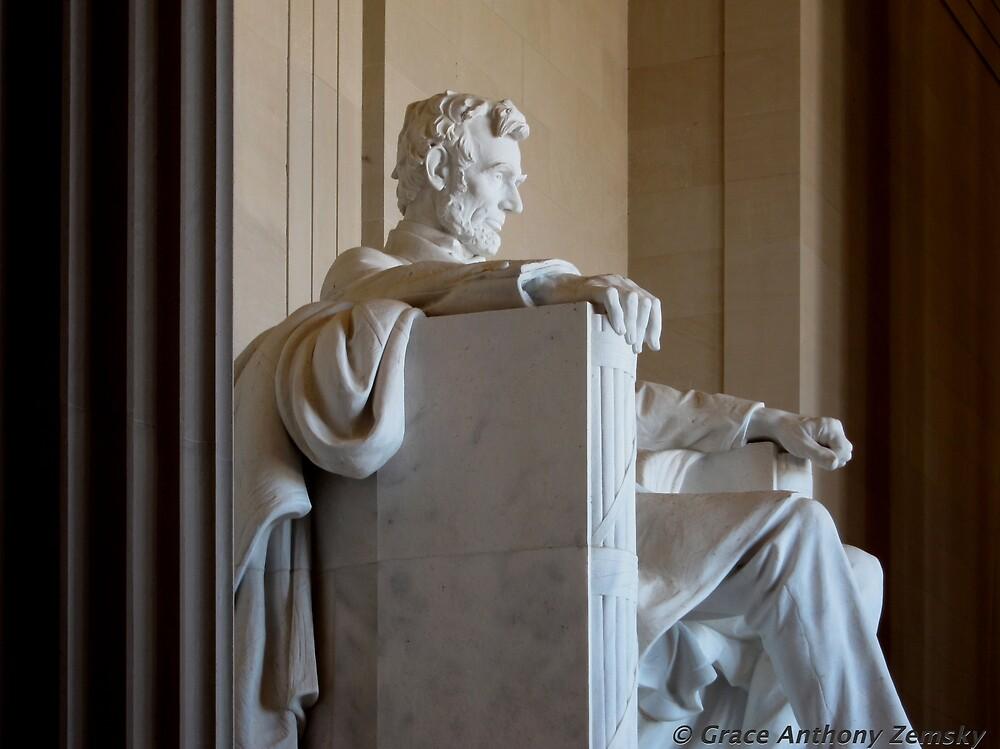 Pondering Lincoln by Grace Anthony Zemsky