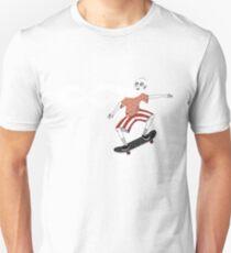The Ancient Skater, Forever Skate ukiyo e style Unisex T-Shirt