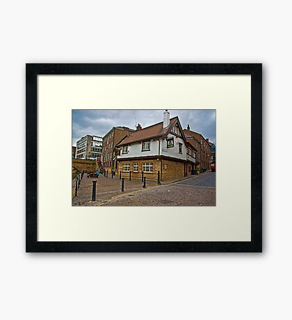Kings Arms - Kings Staith - York Framed Print