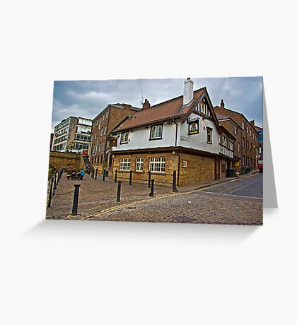 Kings Arms - Kings Staith - York Greeting Card