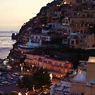 Moonlight over Positano by Randy Sprout