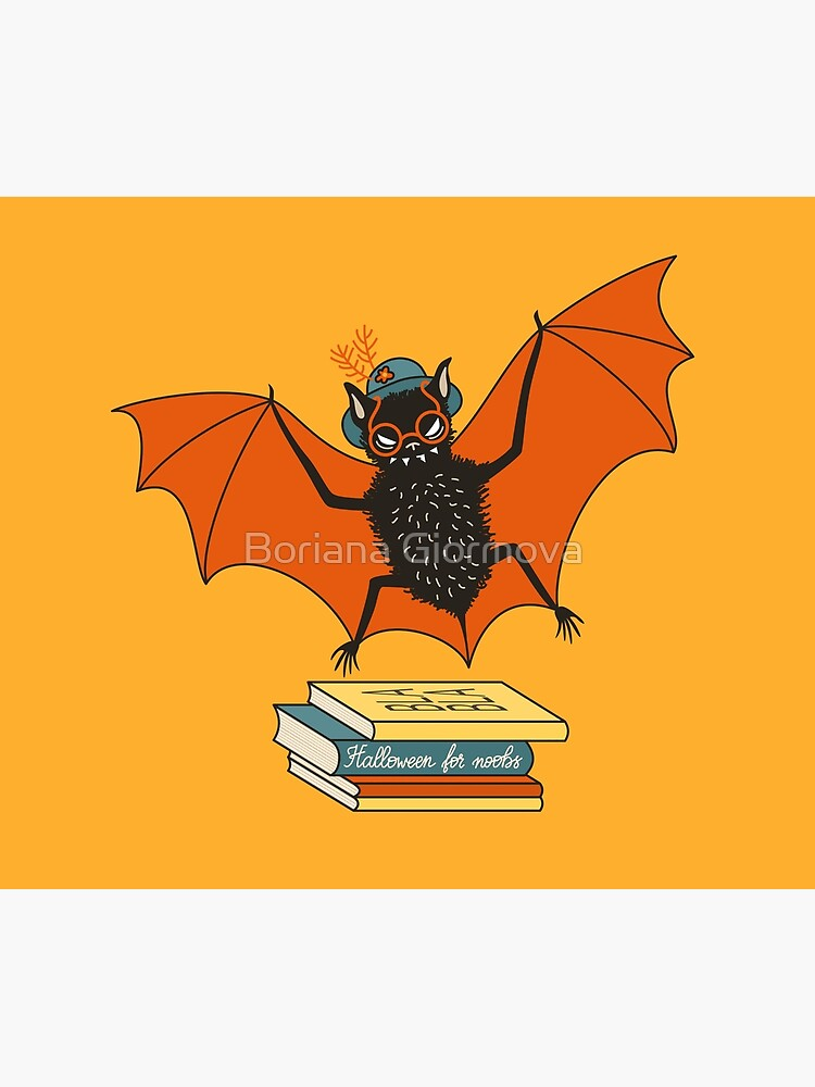 Bat granny in the library  by azzza