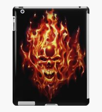 Flaming Skull iPad Case/Skin