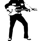 LINK WRAY ROCK'N'ROLL SUPER COOL T-SHIRT by westox