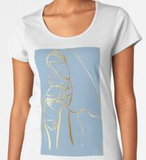 Mater Dei by TRADCATFEM Premium Scoop T-Shirt