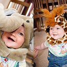 Elliott as a Hefalump and a giraffe by Matthew Bonnington