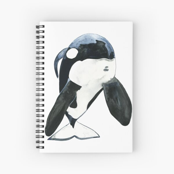 Keiko the Orca Spiral Notebook
