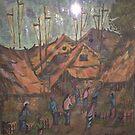 """Bali Village"" by Lilykoli"