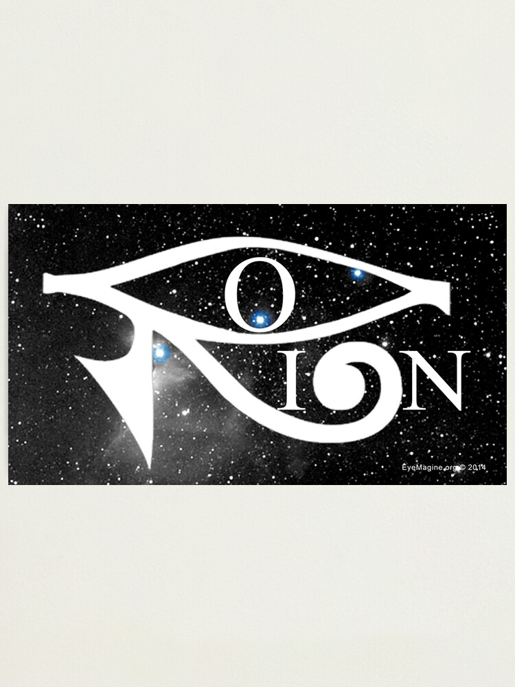 Alternate view of Orion & Eye of Horus Photographic Print