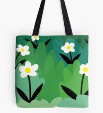 Daisy flower floral plant illustration Tote Bag
