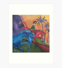 Dreaming when Dawn's Left Hand was in the Sky Art Print