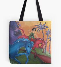 Dreaming when Dawn's Left Hand was in the Sky Tote Bag