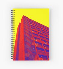 Parkhill popart (part 1 of 6) Spiral Notebook