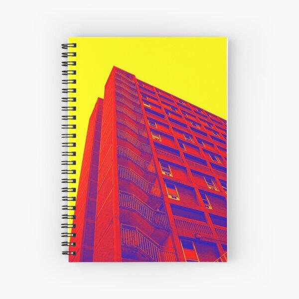 Parkhill popart (part 1 of 6) Spiral Notebook