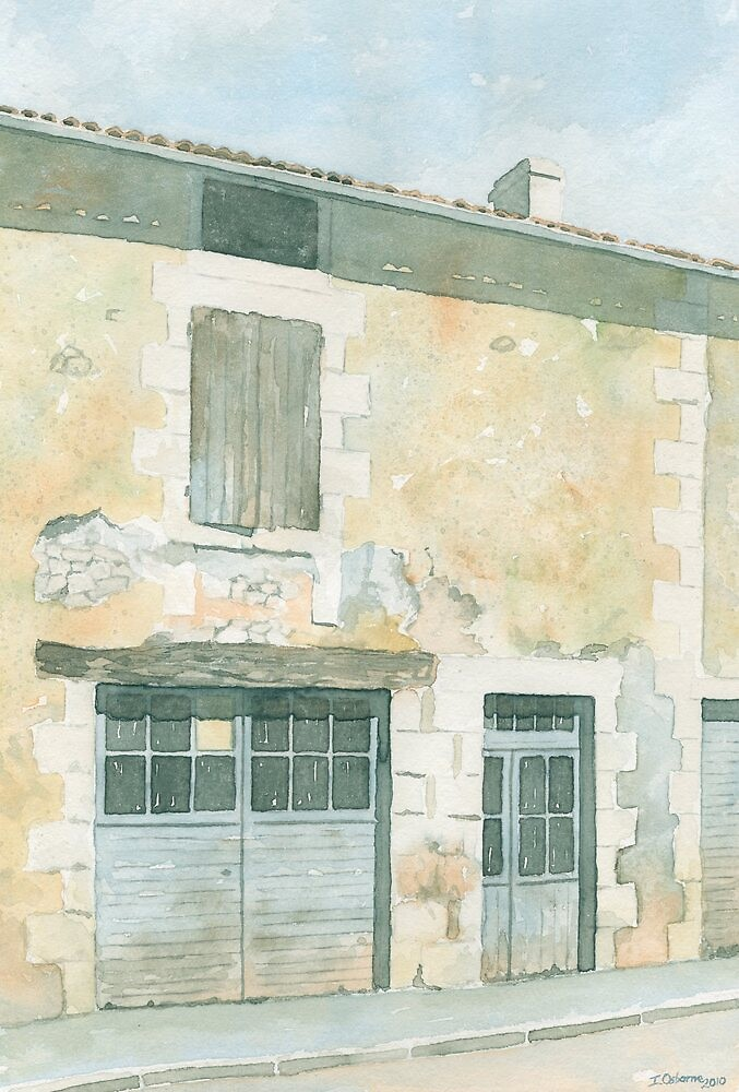 Abandoned House, St. Front la Riviere, France by ian osborne