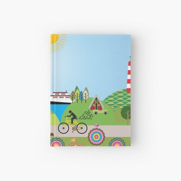 Landscape of Denmark  Hardcover Journal