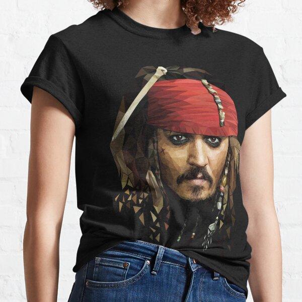 Capitaine Jack Sparrow T-shirt classique