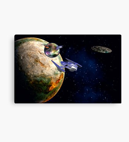 Star Portal 666 Canvas Print