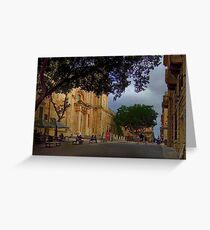 St John's Co-Cathedral  Valletta Malta Greeting Card
