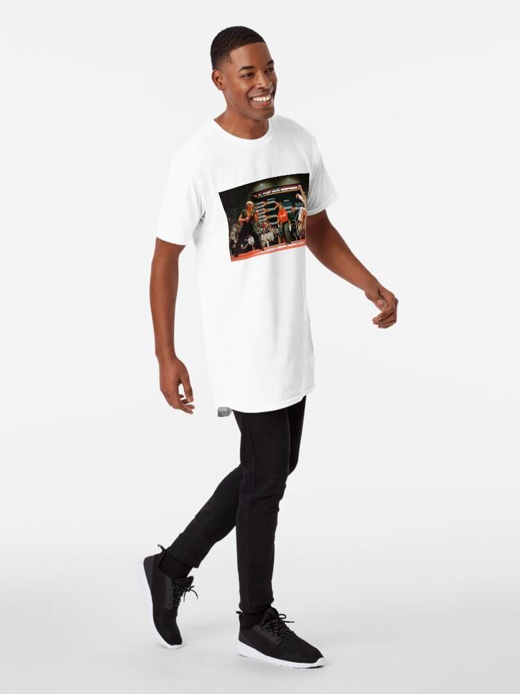 Alternative Ansicht von Karate Kid Kran Kick Longshirt