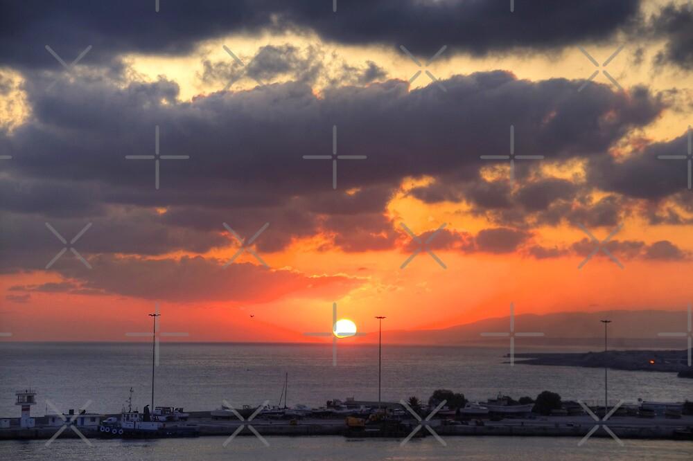 Cretian Sunrise by Tom Gomez