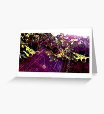 Maulbeerfeigenbaum Grußkarte