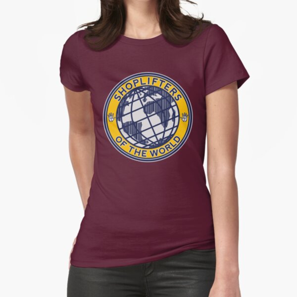 Shoplifters Of The World Fitted T-Shirt