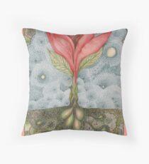 Floribunda Indiennae Throw Pillow