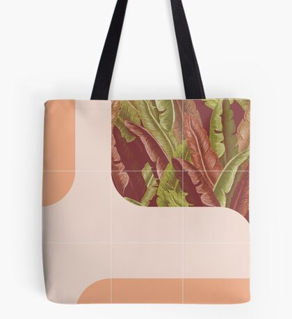 Mid-Century Tropical Way #redbubble #tropical Tote Bag