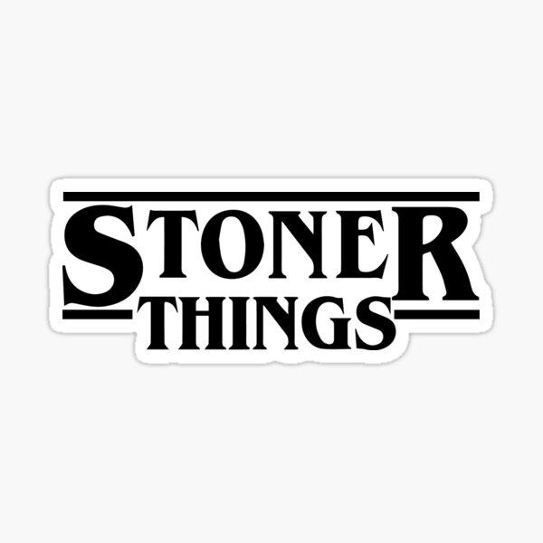 Stoner Things Sticker