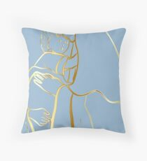 Mater Dei by TRADCATFEM Throw Pillow