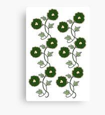 Art Nouveau - Going Green!  Canvas Print
