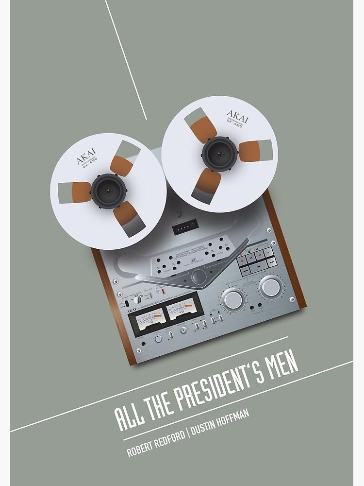 All The President's Men - Alternative Movie Poster by MoviePosterBoy