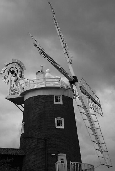 Cley Mill by Justin Clark