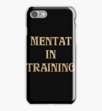 Mentat In Training iPhone Case/Skin