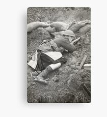 Poor Bloody Infantry Canvas Print